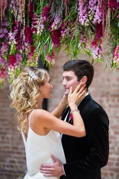 Modern Bridal Hair and Makeup