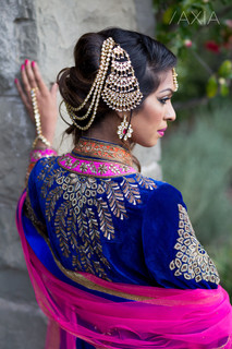 South Asian Wedding Hair and Makeup