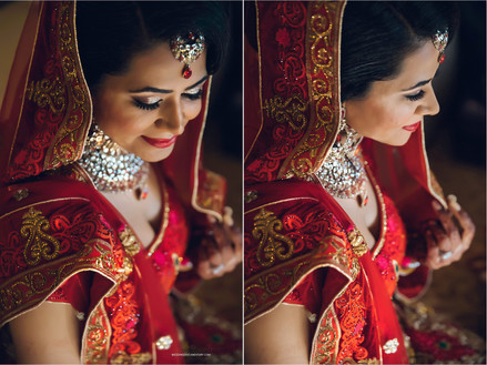 Traditional Indian Bridal Makeup and Hair