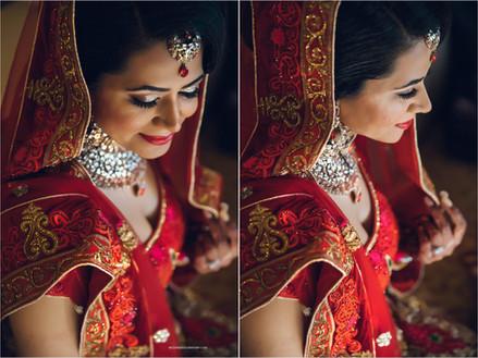Traditional Indian Bridal Makeup and Hair