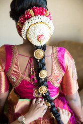 Traditional South Indian Braid