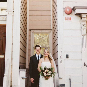 San Fran City Modern Wedding