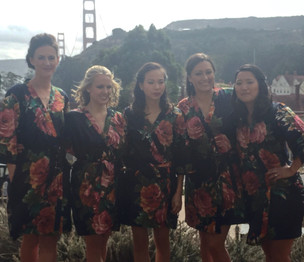 Bridal Party at Cavallo Point Lodge