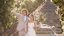 Whimsical Bohemian Nuptial at the Nella Terra Cellars