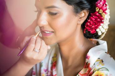 Warm Glowy Bridal Makeup
