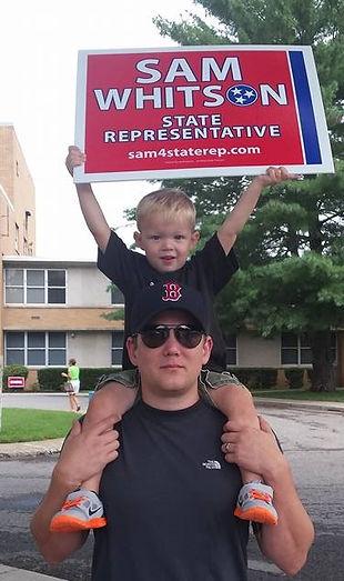 Sam & Brian early voting.jpg