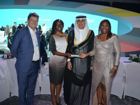 GEW CURAÇAO wins Champion Catalyzer Award - Most GEW Partners Per Capita.