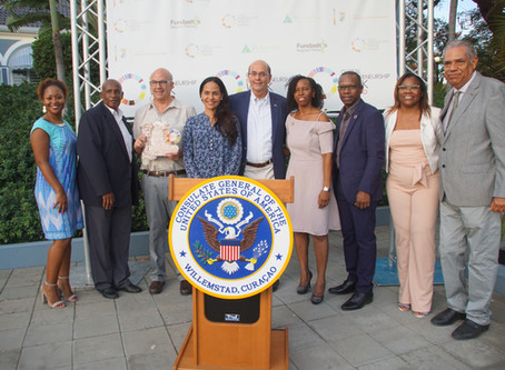 U.S. Consul General Greenberg hosted Global Entrepreneurship Week Pre-Event