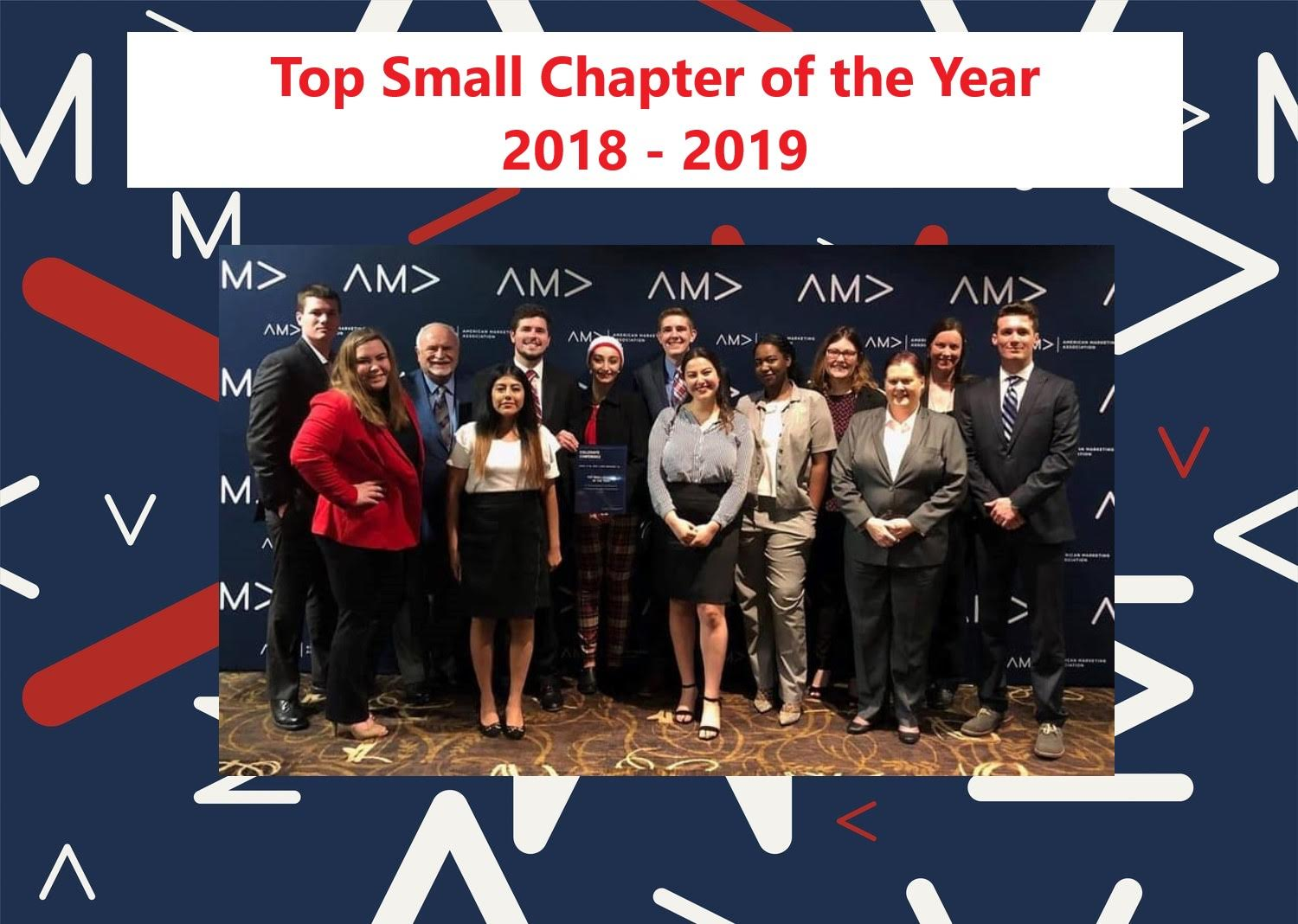 Top Small Chapter of the Year