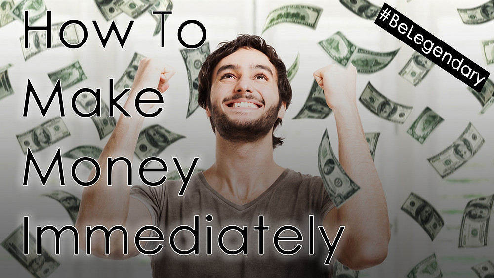 How To Make Money Immediately | Mario Cottman