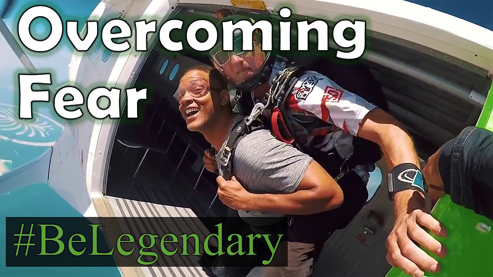 Will Smith - Skydiving | Overcoming Fear | Facing Your Fears | Be Legendary | My Inspiration | Mario Cottman