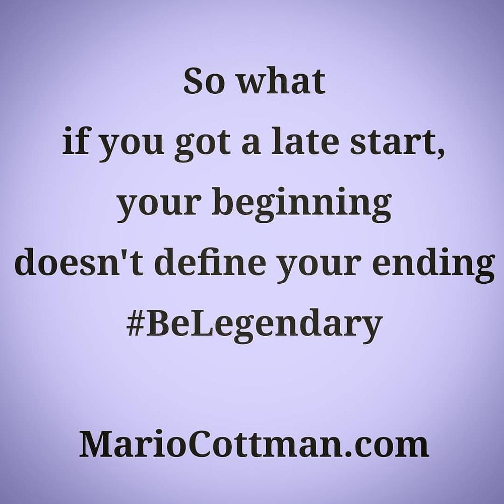 Define Your Ending Mario Cottman