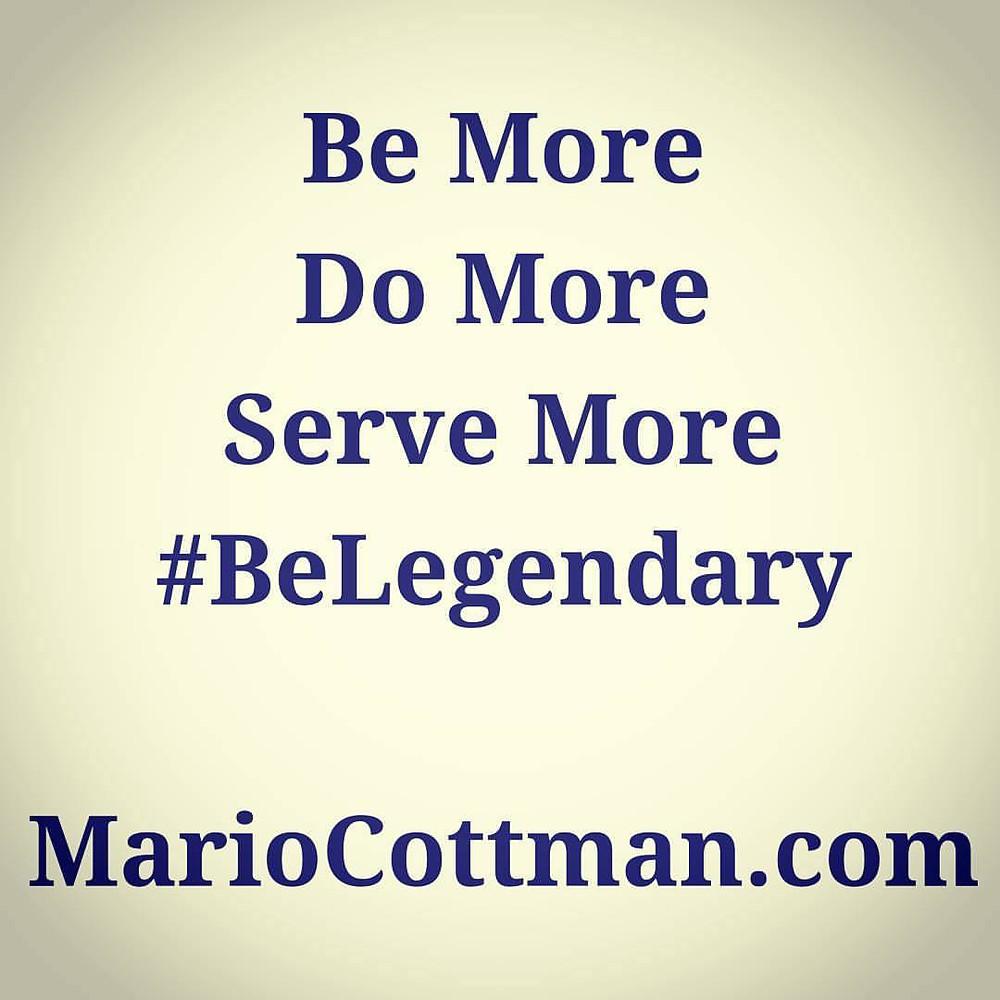 Be More | Mario Cottman