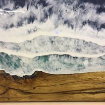 Waves crashing.....
