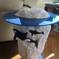 Iceberg and Orcas