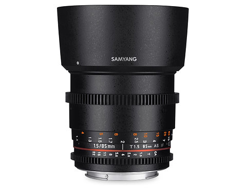 Samyang 85mm T1.5