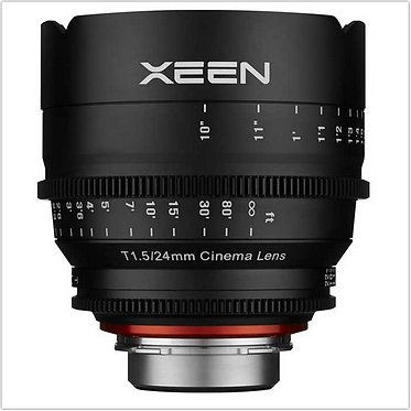 Samyang Xeen 24mm T1.5 Cine p/Canon