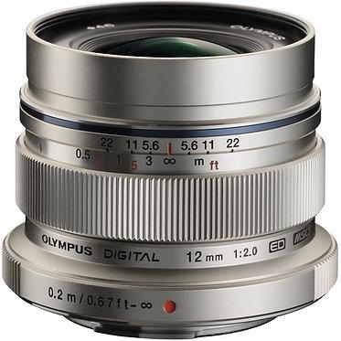 Olympus M.ZUIKO DIGITAL ED 12mm f2 (Prata)