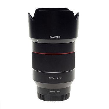 SAMYANG AF 50mm f/1.4 FE p/ Sony E Full Frame