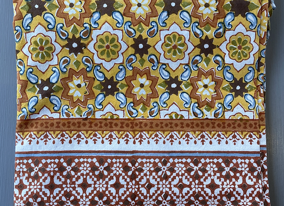 YELLOW STAR TABLECLOTH