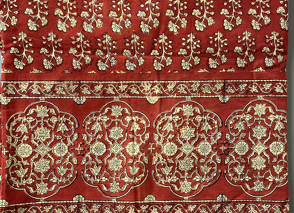 RED SPRIG TABLECLOTH
