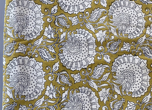 MUSTARD YELLOW TABLECLOTH