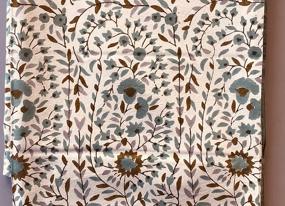Olive Brown Paisley Tablecloth