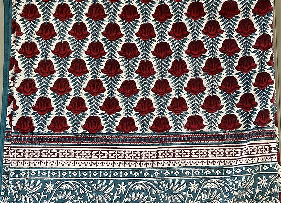 JAIPUR WHITE TABLECLOTH
