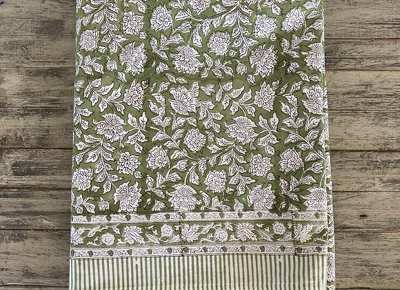 GREEN GARDEN TABLECLOTH (300x177cm)