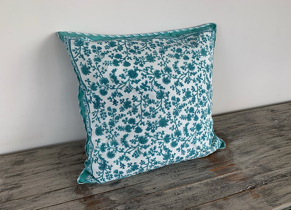TURQUOISE GREEN CUSHION COVERS