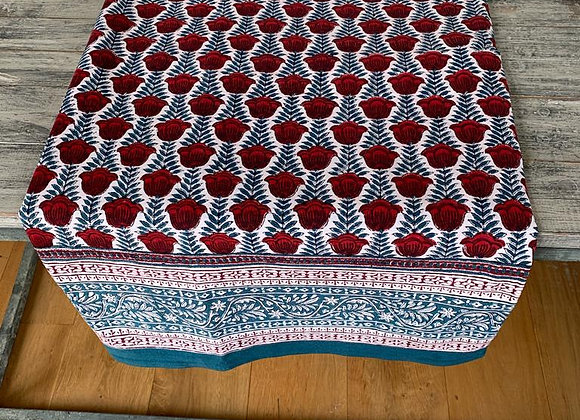 JAIPUR TURQUOISE TABLECLOTH