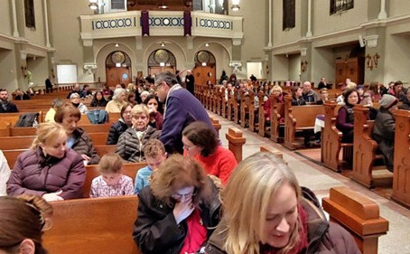 Saint Matthias Parishioners Fight to Keep Church Open in Face of Closure