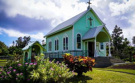 Saving a Unique Painted Church