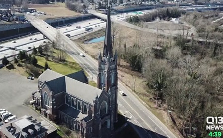 Donation Brings Holy Rosary Church Closer to Restoration