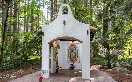 Portland's Shrine to Our Lady of Guadalupe Built by KofC