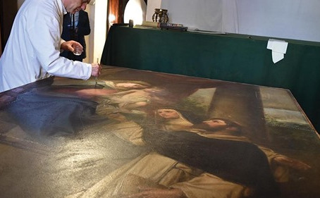 Maltese Priest Carries Out Restorations