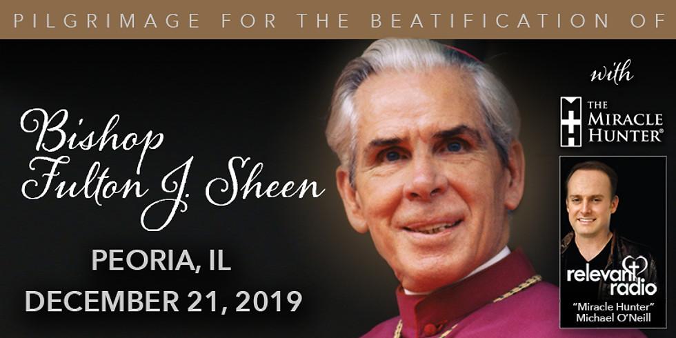 Bishop Sheen Beatification Pilgrimage: Postponed until Further Notice
