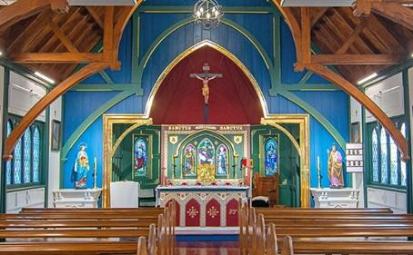 New Zealand Church Claims Resene Total Colour Heritage Award
