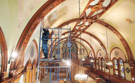 Renovation Work Adds Shine to Shrine