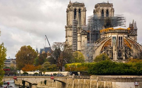 Parts of Notre-Dame Plaza, Crypt Expected to Reopen