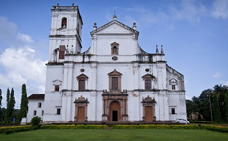 On the See Cathedral of Saint Catherine in Goa