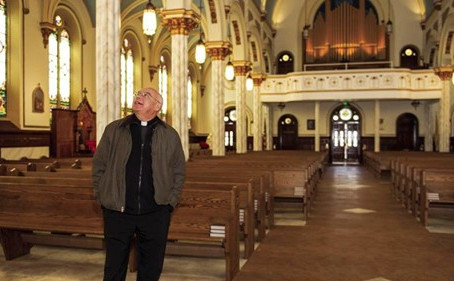 Furnishings From Former Parishes Come Together at Renovated Church
