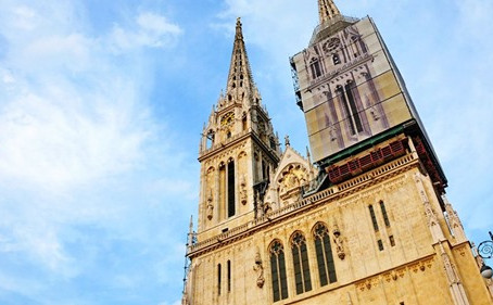 Zagreb Cathedral Damaged in Major Earthquake