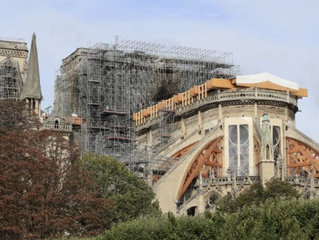 Scaffolding to be Removed from Notre-Dame