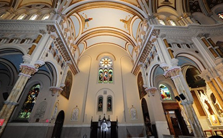 Catholic Strong Funds Strengthen a Majestic Church