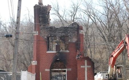 Demolition Begins on Kansas City Church