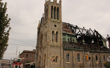 Philadelphia Church Burned in Blaze