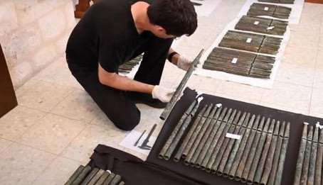 12th-Century Pipe Organ Discovered in Holy Land