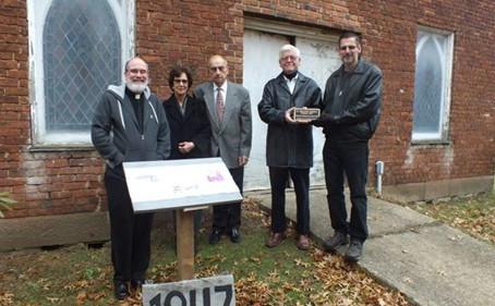 Church Receives Historic Preservation Award