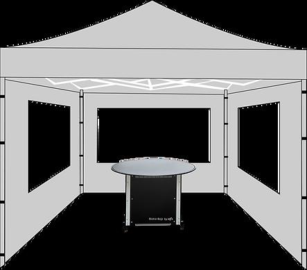 Vektorgrafik Bistro-Boje mit Pavillon.png